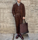 The Boogie Holiday & Co. 1928 4-delig suit Manchester Corduroy Brown