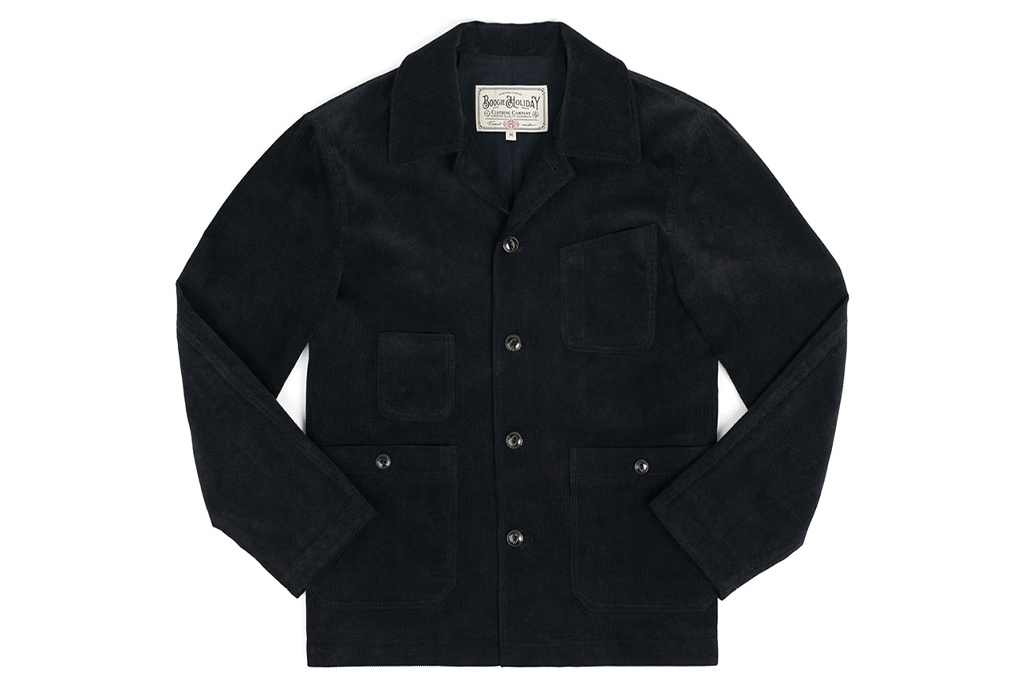 The Boogie Holiday & Co. 1928 Manchester Corduroy Jacket Navy