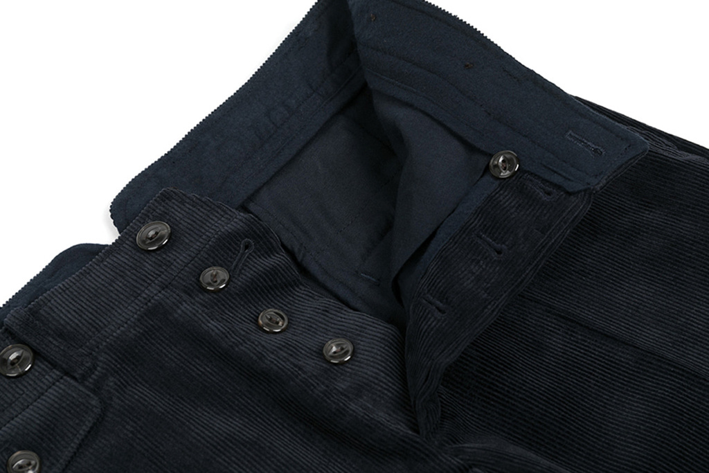 The Boogie Holiday & Co. 1928 Manchester Corduroy Trousers Navy
