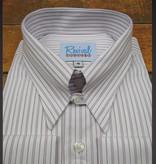 Revival London Stripe 40s Spearpoint Tab Collar Shirt