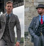 Simon James Cathcart 1928 Open-Weave Arkwright Jacket