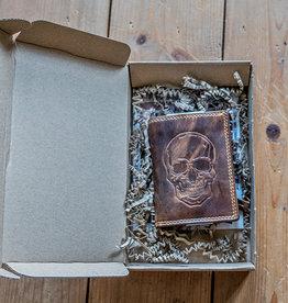 Urban Bozz Giftbox Skull Wallet