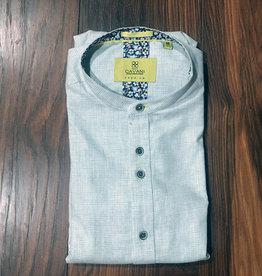 House of Cavani 1924 Warm Grey Grandad shirt