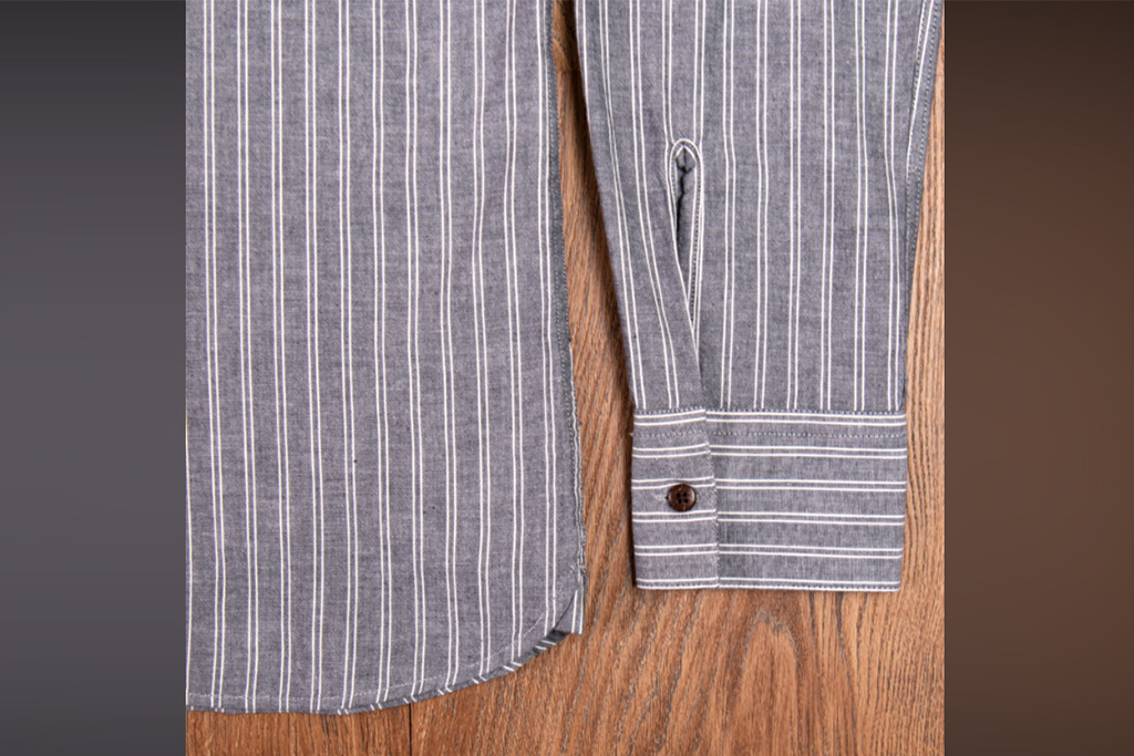 Pike Brothers 1923 Buccanoy Shirt Deacon grey