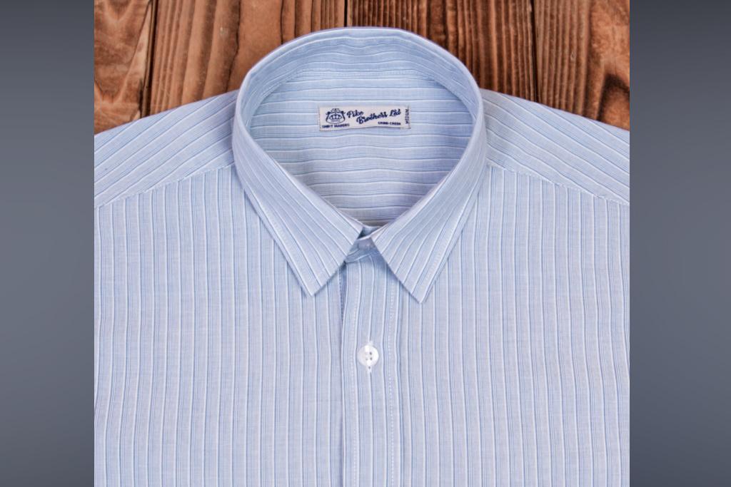 Pike Brothers 1937 Roamer Shirt blue wabash denim - Copy1947 Salesman Shirt Brooklyn blue