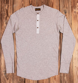 Pike Brothers 1927 Henley Shirt long sleeve fog