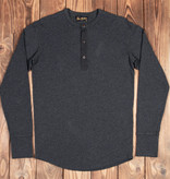 Pike Brothers 1927 Henley Shirt long sleeve iron grey