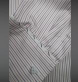 Revival Red York Stripe 40s Spearpoint Collar Shirt