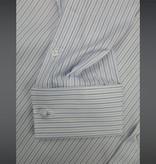 Revival Blue York Stripe 40s Spearpoint Collar Shirt