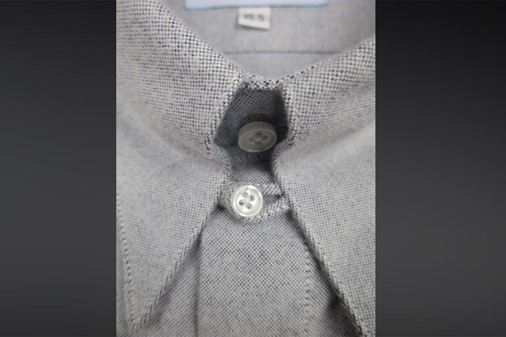 Revival 1930  Aspen Blue Spearpoint Collar Shirt
