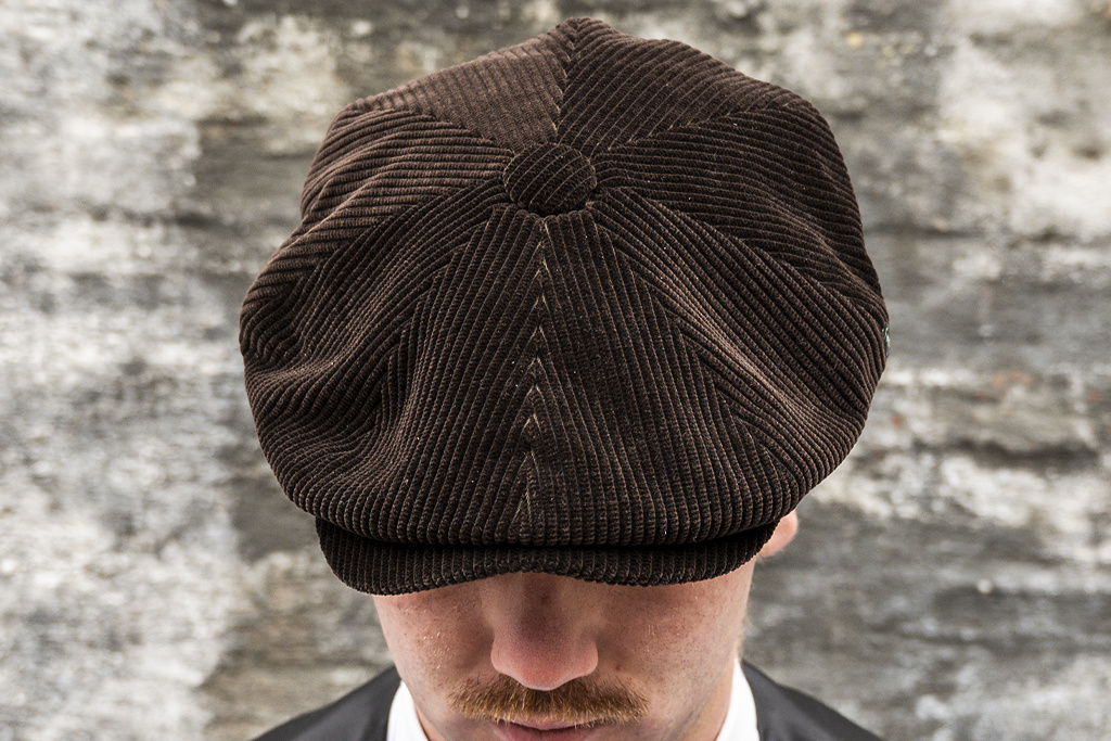 City Sport Corduroy Cap Brown