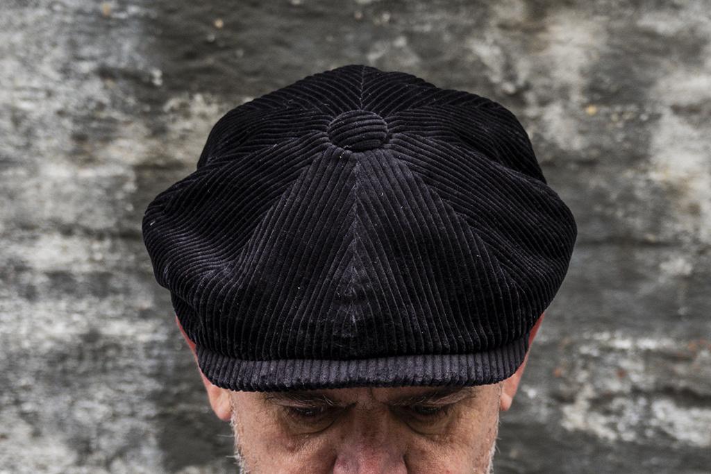 City Sport Corduroy Cap Black