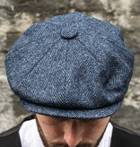 City Sport Herrringbone Blue  Cap