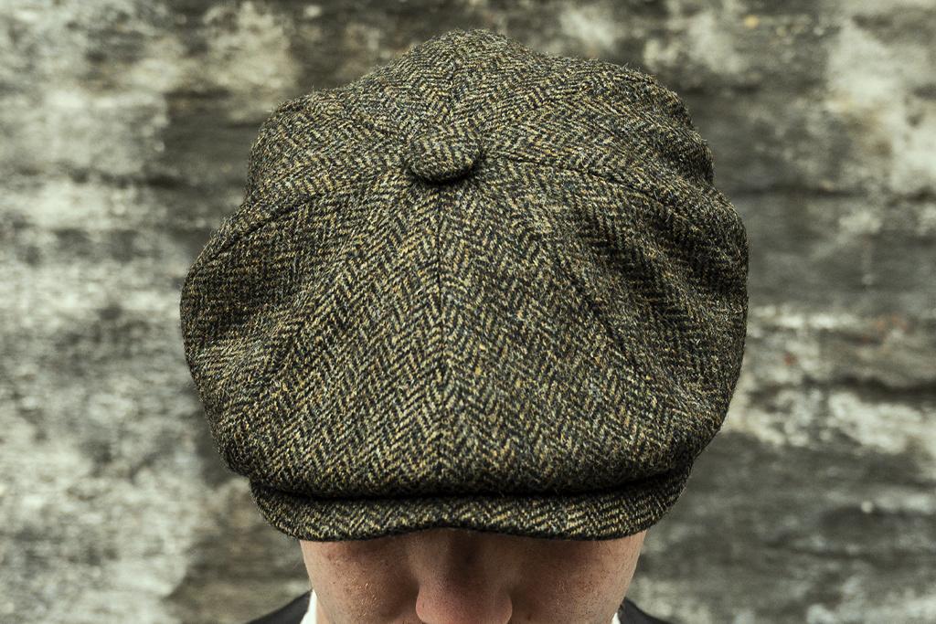 City Sport Herrringbone Green  Cap
