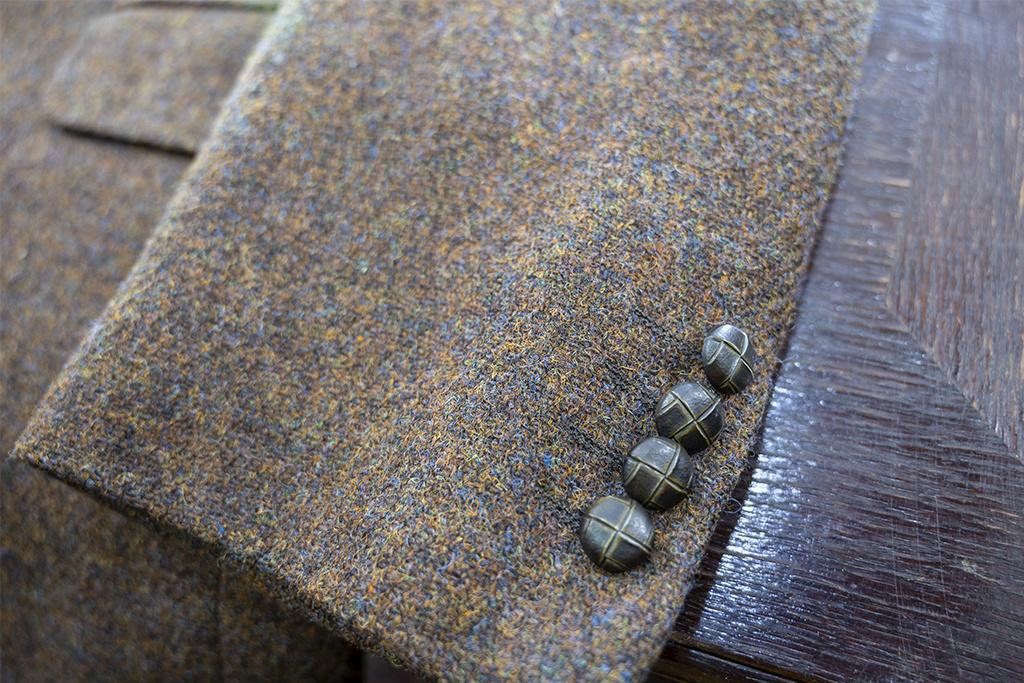 Salvage by Urban Bozz Tweed Jacket Simon M/L