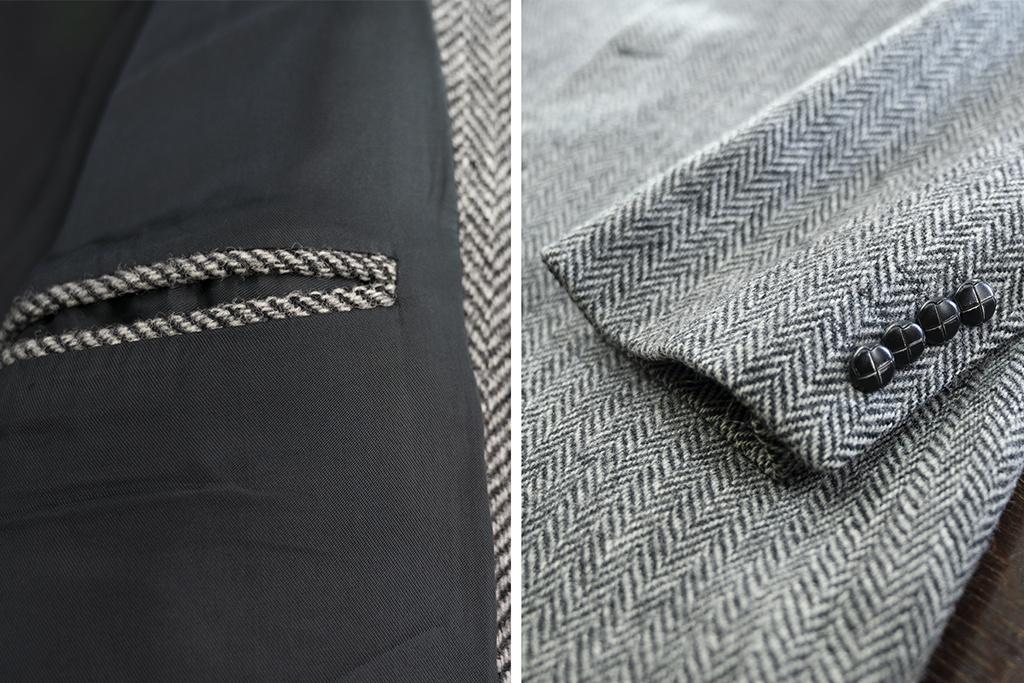 Salvage by Urban Bozz Tweed jacket Bertrand XL
