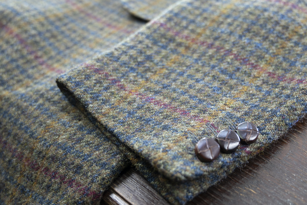 Salvage by Urban Bozz Tweed jacket Bertus XXL