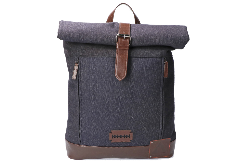 Shelby Brothers collection by Orange Fire Bonnie rolltop-backpack