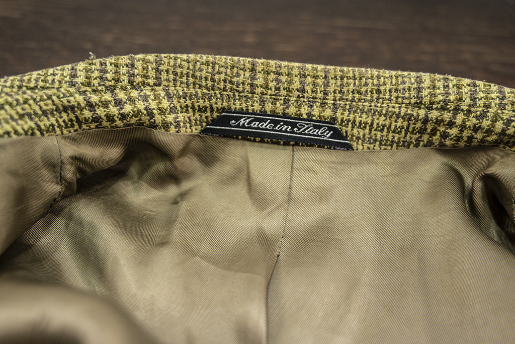 Salvage by Urban Bozz Tweed jacket Maurits M