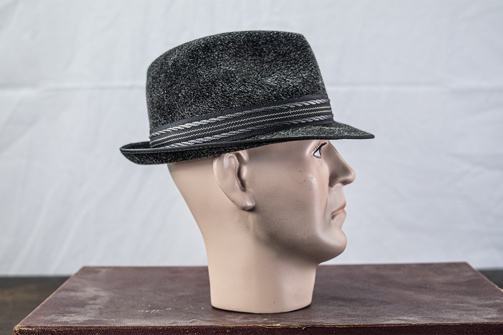 Salvage by Urban Bozz Furfelt Trilby antraciet