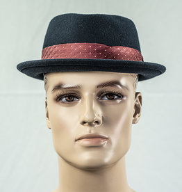 Major Headwear Porkpie hat navy