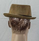 Major Headwear Porkpie hat cognac-brown