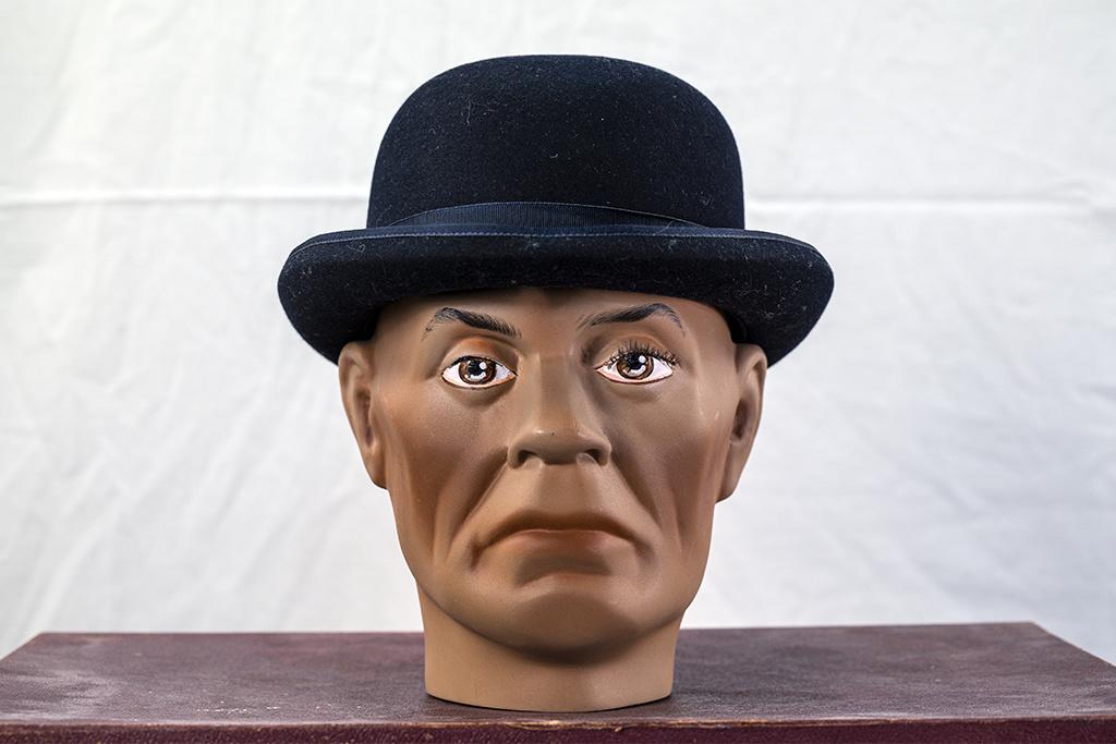 Mayser Hats Connor Wolga Stone Derby Hat Navy