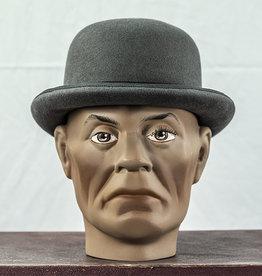 Mayser Hats Fur Felt Melone Derby Grey