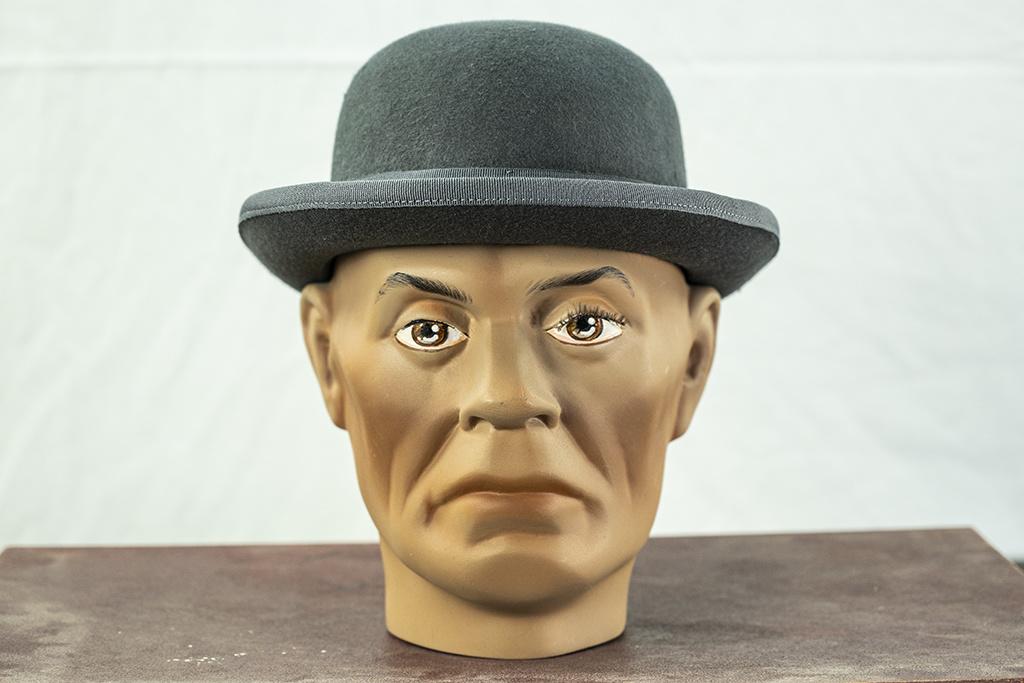 Major Headwear Grey Derby Hat