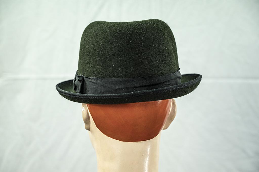 Christys' London Fine Fur Felt Racing Hat Green