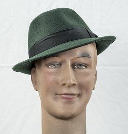 Mayser Hats Troy Wolga Bottle Green Trilby Hoed