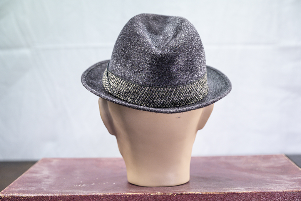 Salvage by Urban Bozz Trilby hat furfelt  dark-grey