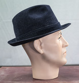 Salvage by Urban Bozz Trilby woolfelt navy hoed