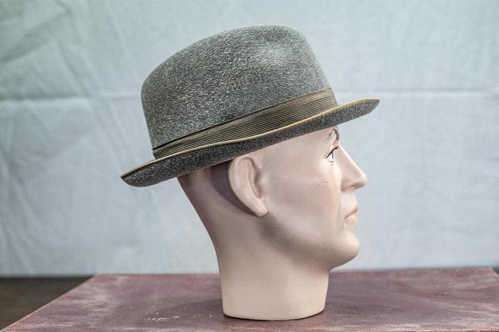 Salvage by Urban Bozz Trilby hoed furfelt grijs