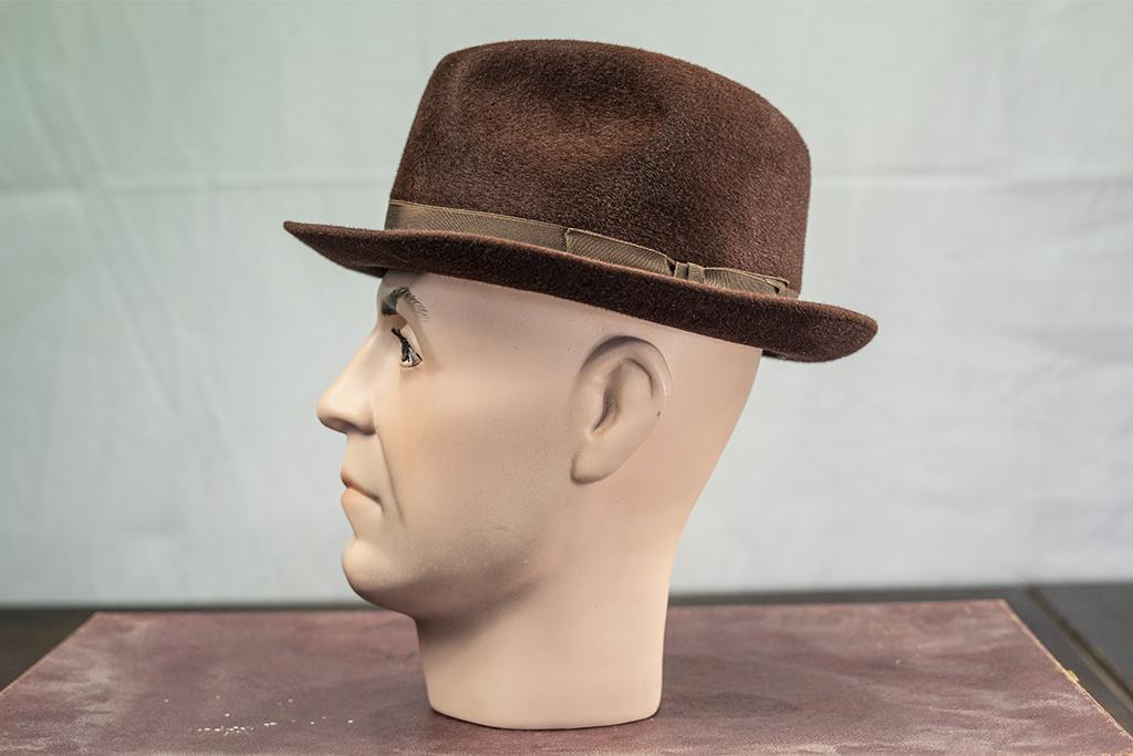 Salvage by Urban Bozz Trilby hoed furfelt brown