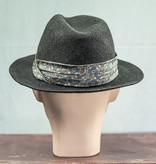 Salvage by Urban Bozz Small Fedora hoed grey