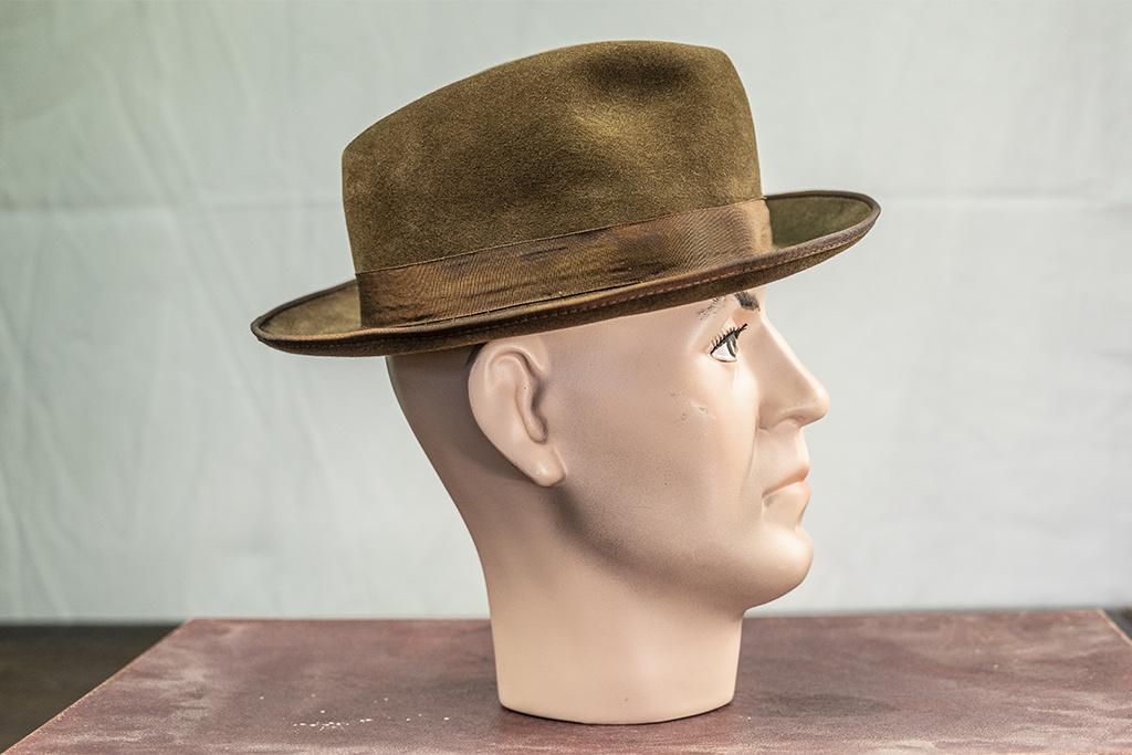 Salvage by Urban Bozz Brown  trilby-fedora hat