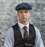 Sterkowski Shelby Blue Red Check Cap