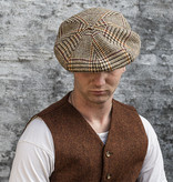 Sterkowski Peaky Blinder Beige Check Cap