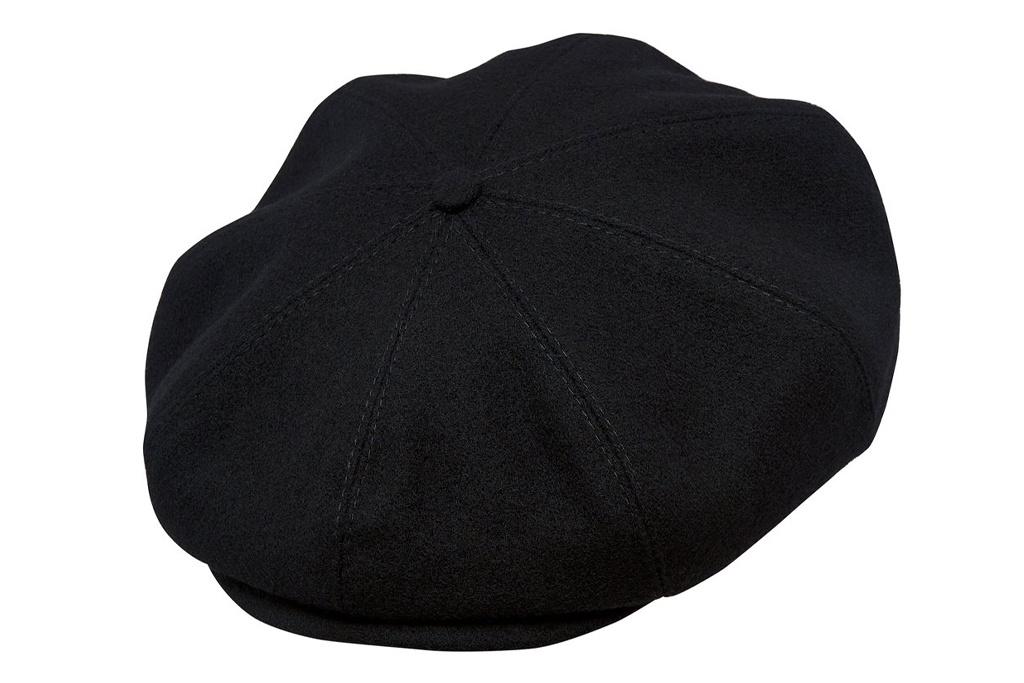 Sterkowski Peaky Blinder Black Wool Cap