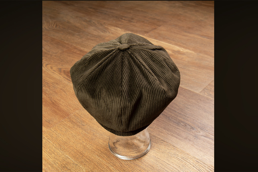 Pike Brothers Corduroy Cap Olive