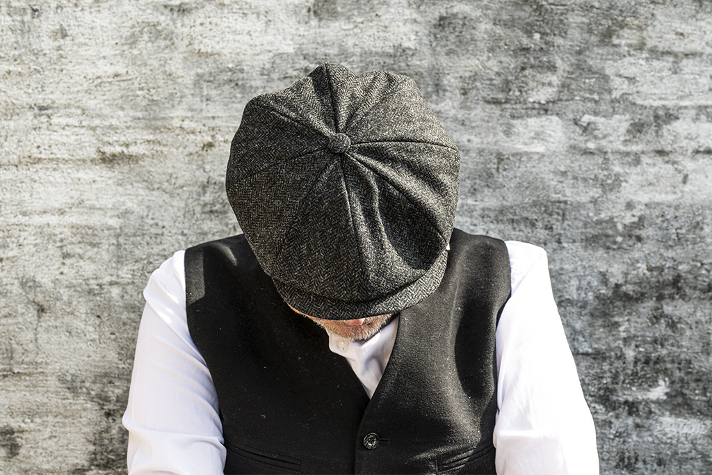 Pike Brothers Shelby Cap Bordesley Grey