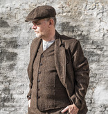 Pike Brothers 1928 3-delig  tweed suit Upland brown