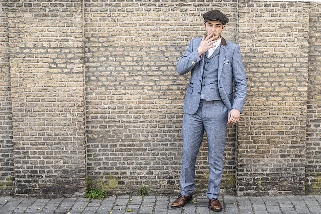 Harry Brown 3 delig tweed pak Bangor-on-Dee suit