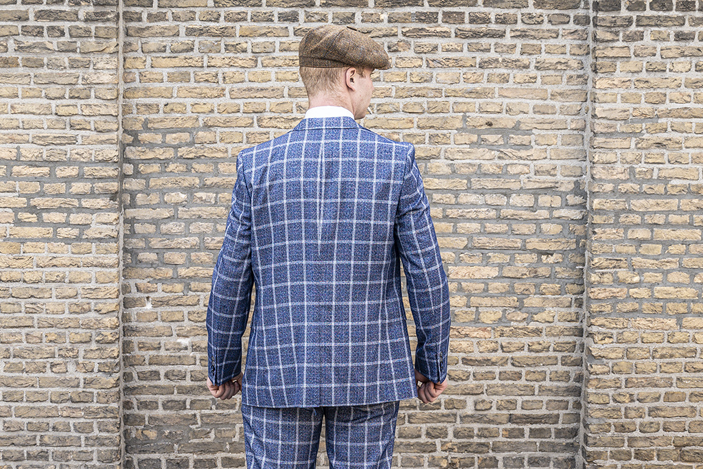 Harry Brown 3 delig tweed pak Taunton