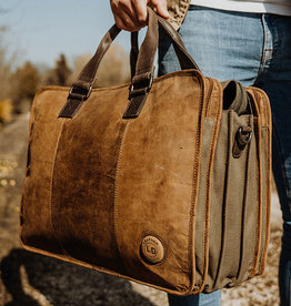 Leather Design Washington office bag