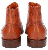 Master Pieces Shelby Handpainted Brogues Orange Brown