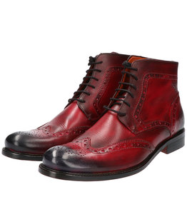 Master Pieces Shelby Handpainted Brogues The Red Right Boot
