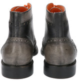 Master Pieces Shelby Handpainted Brogues Black Grey