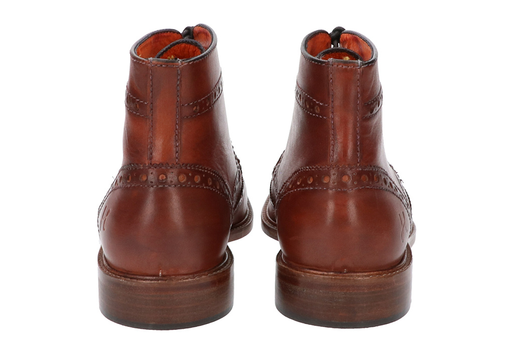 Master Pieces Shelby Handpainted Brogues Brown Tones